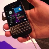 BlackBerry Q10 Hands On