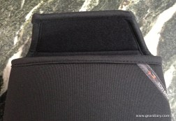 Top secures the iPad inside