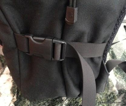 Side Compression Strap- cinched