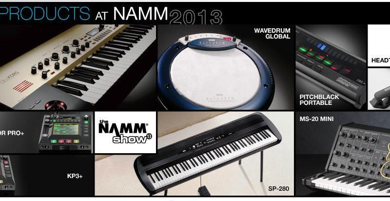 Korg NAMM 2013
