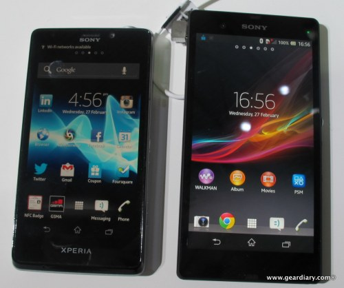 Sony Xperia Z and Xperia Tablet Z - Sharp & Impressive at MWC 2013