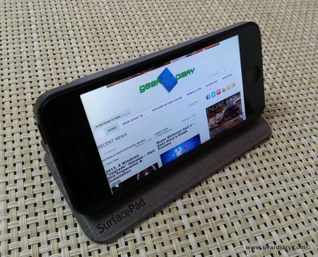 Twelve South SurfacePad for iPhone 5 Review