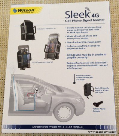GearDiary Wilson Electronics Sleek 4G Signal Booster Keeps the Conversation Going- Review