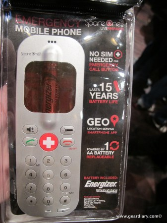 SpareOnePLUS Emergency Mobile Phone