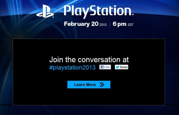 PlayStation February 20 Announcement for PS4?