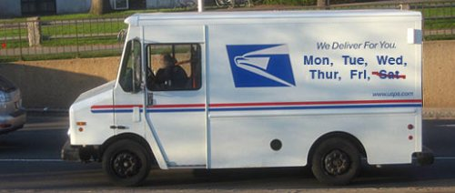 USPS Saturday Service Cut: The Revolution Will Not Be Sitting in Your Saturday Mailbox
