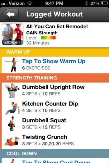 Getting Fit with MyFitnessPal and GAIN Fitness