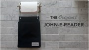 John-E-Reader Makes Your Bathroom Safe for Kindles