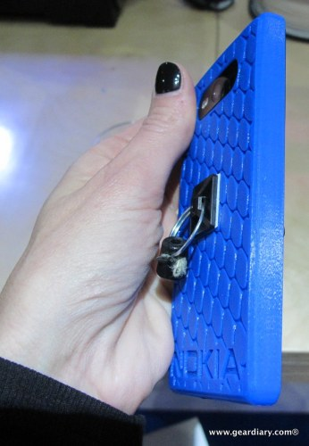 Nokia and MakerBot Replicator 2 3D Printed Lumia 820 Case