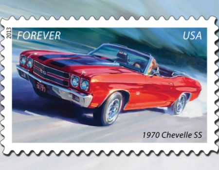 US Postal Service Delivers Muscle Cars Forever