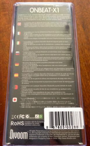 Divoom OnBeat X1 Portable Bluetooth Speaker Review  Divoom OnBeat X1 Portable Bluetooth Speaker Review