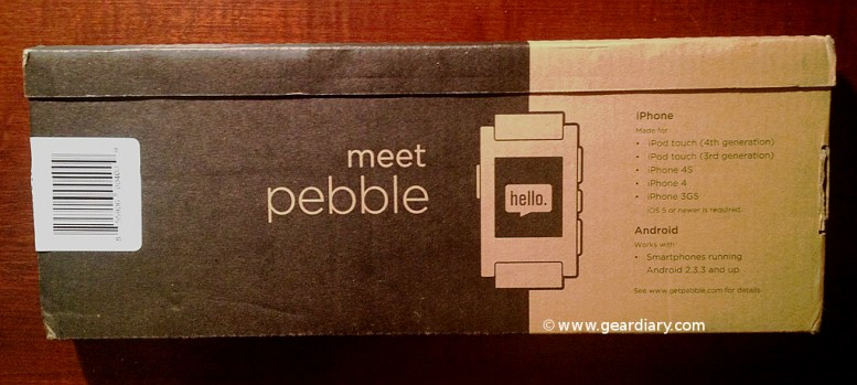Pebble E-Paper Watch for iPhone and Android Review  Pebble E-Paper Watch for iPhone and Android Review