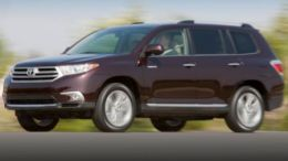 2013 Toyota Highlander Limited 4WD in the Grinding Gears Garage