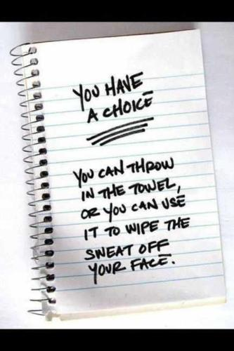 Make The Choice for Fitness - The Monday Mile