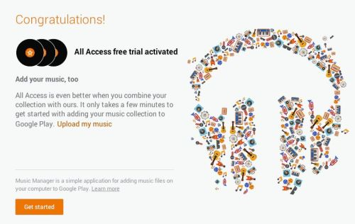 Google Launches Spotify-like 'Google Play Music All Access'