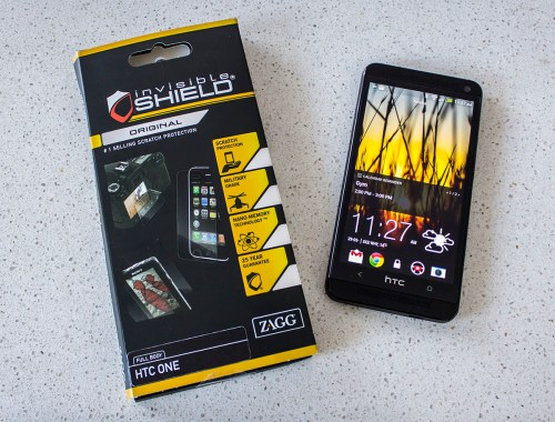 ZAGG invisibleSHIELD for HTC One