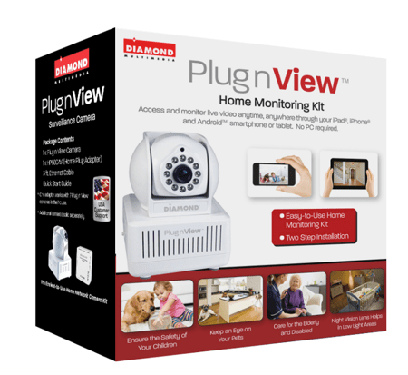 Diamond Multimedia PlugnView Home Monitoring System