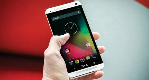 HTC One running pure Android 4.2.2