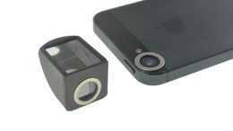 Magnet Stick-On Periscope Lense for iPhone and Camera Phones Surfaces