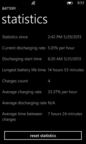 Battery for Windows Phone Review
