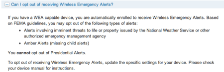 Wireless Emergency Alerts Coming to ATT iPhone Customers  Wireless Emergency Alerts Coming to ATT iPhone Customers