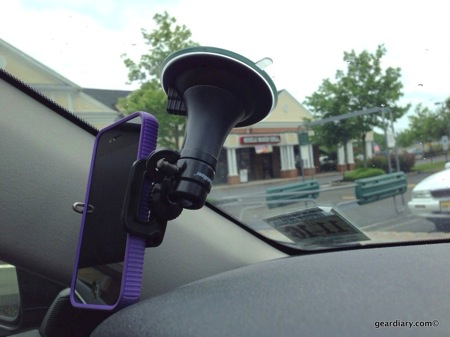 GearDiary iStabilizer Glass Car Mount Goes Along for the Ride