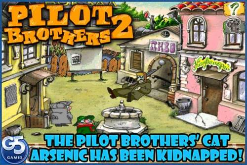 Pilot Brothers 2 HD for iPad Review - Hit that Hint Button!