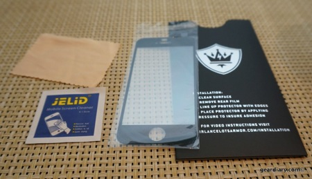 Sir Lancelot's Armor Holy Grail Screen Protector Review