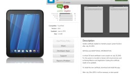 HP Releases App Catalog Fix to Keep WebOS Devices Afloat