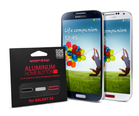 Spigen SGP Aluminum Home Buttons for Samsung GALAXY S4