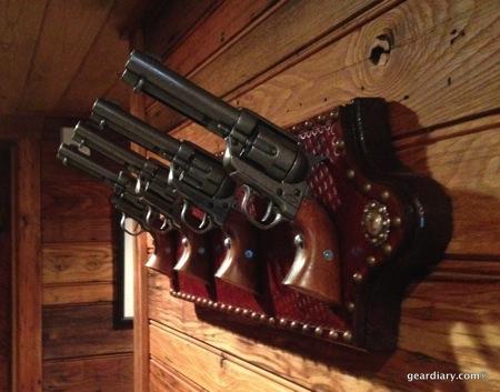 Six-Shooter Coat Rack