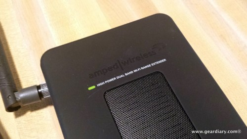 Amped Wireless High Power Wireless-N 600mW Gigabit Dual Band Repeater