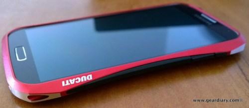 DRACO HYDRA Aluminum Bumper -for Samsung Galaxy S4