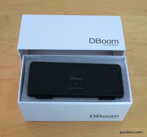 Gear Diary DBoom Bluetooth Speaker 45