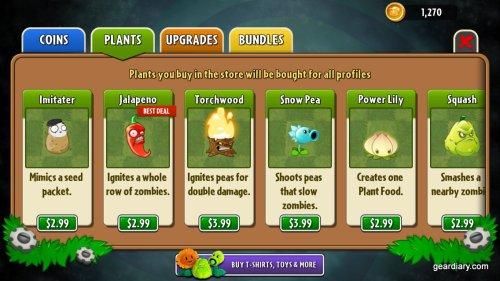Plants vs Zombies Gear Diary (4)