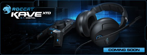 Roccat Unleashes the XTD Cave 5.1 Gaming Headset at GamesCom!