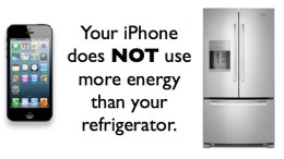 Your Biggest Household Energy Hog? Your Smartphone!