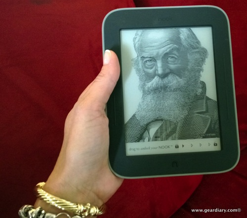 Check Out Judie's eBay Influencer Review of the Barnes & Noble Nook Simple Touch with GlowLight Then Enter to Win Great Prizes