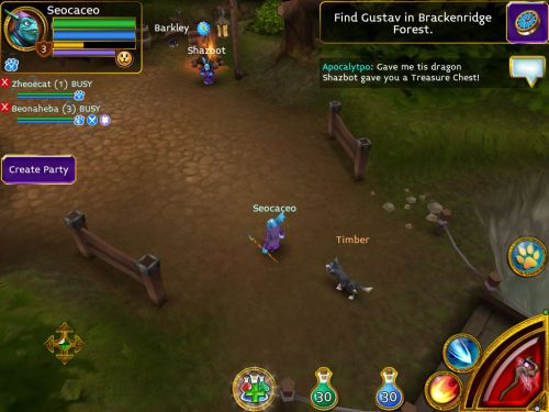 Arcane Legends Brings Action-RPG Hack'n'Slash Excellence to iOS and Android!