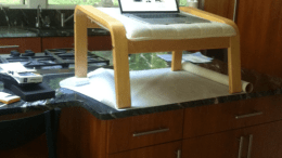 The Ikea Ottoman Standing Desk- DIY For $39