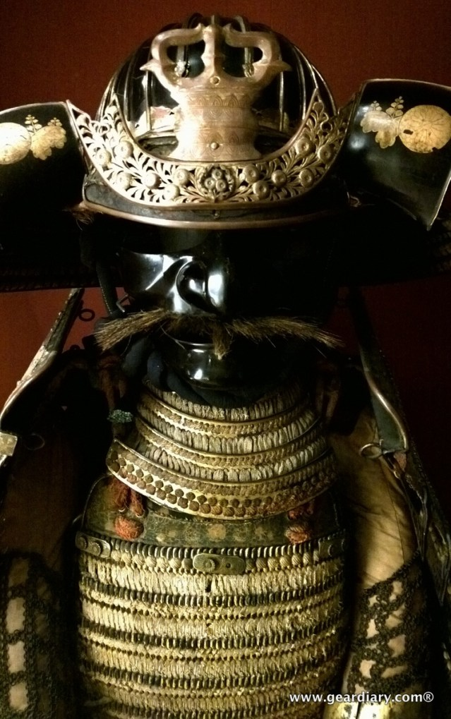 There were even suits of armor from the Orient ...