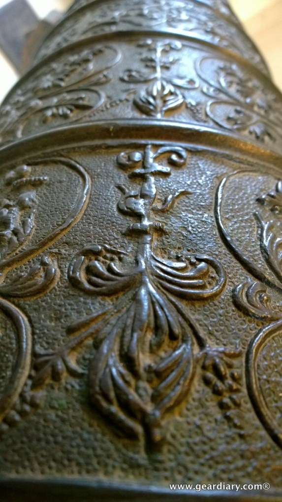 The engravings and moldings on many of the canons were beautiful!