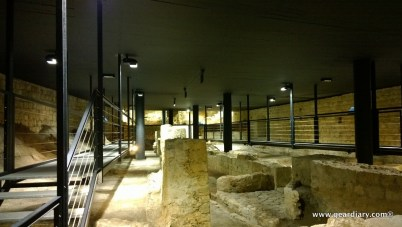 ... there is an archeological museum that contains a foundry from the late 16th century.