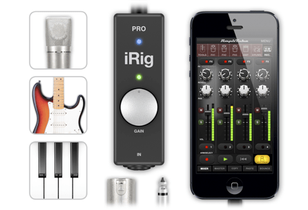 IK Multimedia Unveils iRig Pro, an All-in-One Interface for iOS Devices!