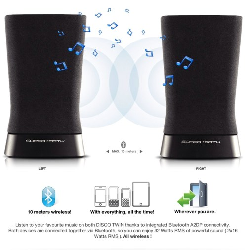 Supertooth Disco Twin Speakers Review