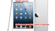Security and Privacy iPad