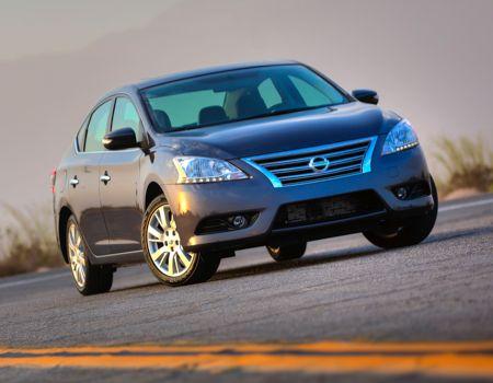 2013 Nissan Sentra SL/Images courtesy Nissan