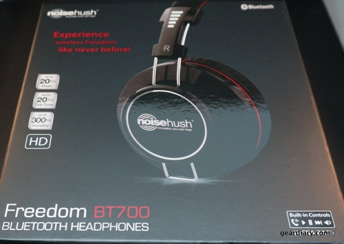 NoiseHush Freedom BT700 Bluetooth Headphones Cut the Cord, Don't Break the Bank