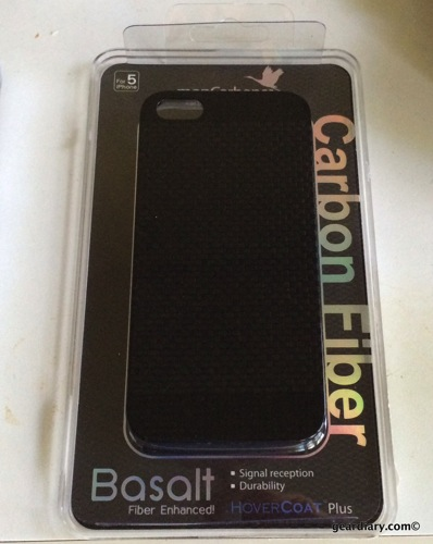 monCarbone Hovercoat for iPhone 5S Case Review