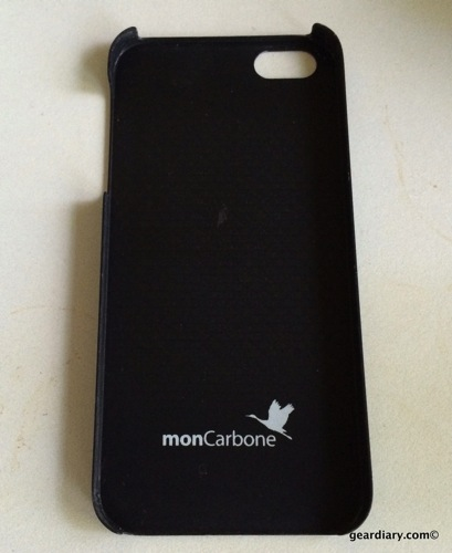 monCarbone Hovercoat for iPhone 5S Case Review  monCarbone Hovercoat for iPhone 5S Case Review
